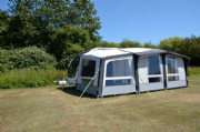 Kampa Club Air 390 Plus L/H Caravan Awning 2019
